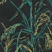Moonlight Wheat Art Print