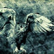 Moonlit Owl Art Print