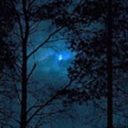 Moonshine 10 Blue Sky Art Print