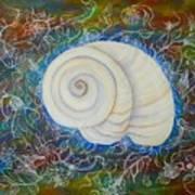 Moonsnail Lace Art Print