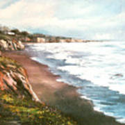 Moonstone Cliffs Art Print