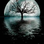 Moontree Art Print