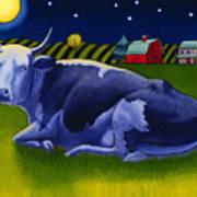 Mooonlight Art Print