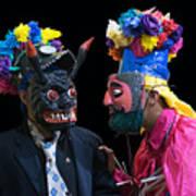 Moor Masks  Art Print