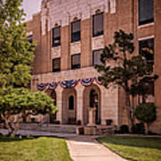 Moore County Courthouse Art Print