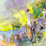 Moorish Castle In Sintra 01 Art Print