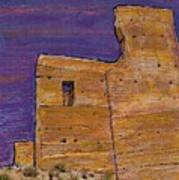 Moorish Fort In Jumilla Art Print