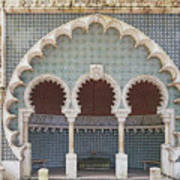 Moorish Fountain Of Sintra Art Print