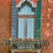Moorish Window And Texture Venice_dsc5350_03052017 Art Print