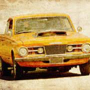 Mopar Racing Art Print
