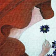 Mopart Lady Art Print