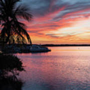 Morado Sunset Art Print