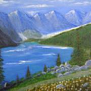 Moraine Lake, 16x20, Oil, '07 Art Print