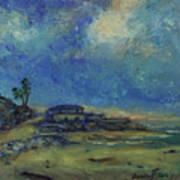 Moran Lake Santa Cruz California Landscape 9 Art Print