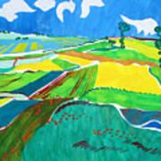 Moravian Landscape Art Print