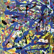 More Blueness Art Print