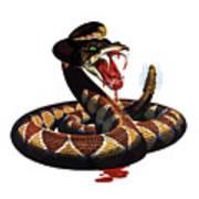 More Dangerous Than A Rattlesnake - Ww2 Art Print