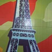 More Parisian  Murals.....  Art Print