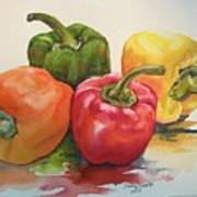 More peppers Art Print