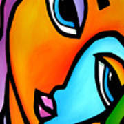 More Than Enough - Abstract Pop Art By Fidostudio Art Print