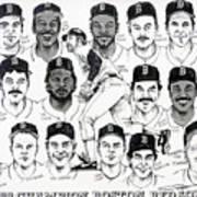 Morgan Magic And The East Championship Newspaper Poster Art Print