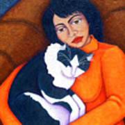 Morgana With Woman Art Print