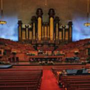 Mormon Meeting Hall Art Print