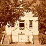 Mormon Pine Valley Meeting House Art Print