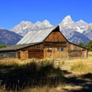 Mormon Row Barn 2 Art Print