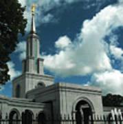 Mormon Temple Folsom Ca Art Print