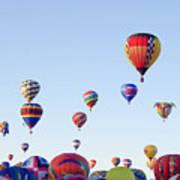 Morning Ballon Rise Art Print