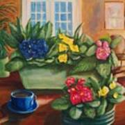 Morning Coffee Art Print by Dana Redfern