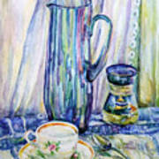 Morning Coffee. Art Print