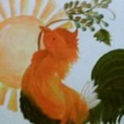 Morning Greeting Art Print