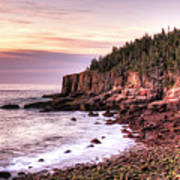 Morning In Acadia Art Print
