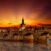 Morning In Prague Art Print