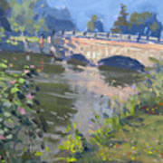 Morning Light At Hyde Park Art Print