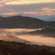 Morning Mist Four Art Print