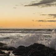 Morning Ocean Mist Art Print