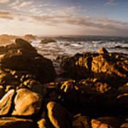 Morning Ocean Panorama Art Print