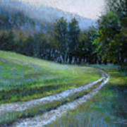 Morning On Blue Mountain Road Art Print