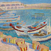Morning  On Cyprus .2003 Art Print