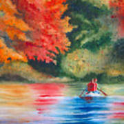 Morning On The Lake Art Print