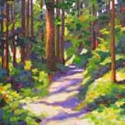 Morning On The Trail 3 Art Print