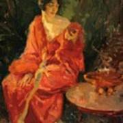 Morning Reflections 1910 Art Print