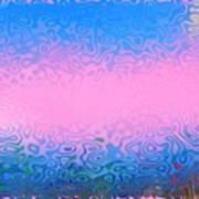 Morning Sea Fog.cold Water Art Print