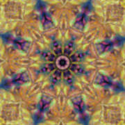 10300 Morning Sky Kaleidoscope 01a Art Print