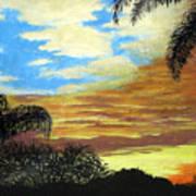 Morning Sky Print by Frederic Kohli
