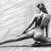 Morning Stretch Art Print