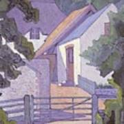 Morning, The South Downs By Robert Polhill Bevan Art Print